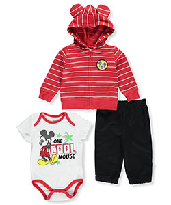 Mickey Mouse Baby Boys' 3-Piece Outfit - CookiesKids.com