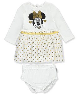 Disney Minnie Mouse Baby Girls' Dress with Diaper Cover - CookiesKids.com