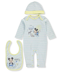 Mickey Mouse Baby Boys' 3-Piece Layette Set - CookiesKids.com