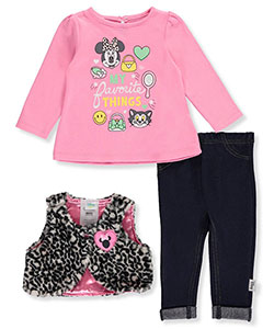 Minnie Mouse Baby Girls' 3-Piece Outfit - CookiesKids.com
