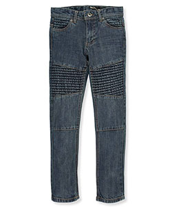 "DKNY Big Boys' ""Pleated Denim"" Slim Fit Jeans (Sizes 8 – 20) - CookiesKids.com"