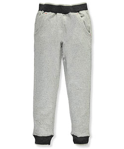 "DKNY Big Boys' ""Speckled Heather"" Joggers (Sizes 8 – 20) - CookiesKids.com"