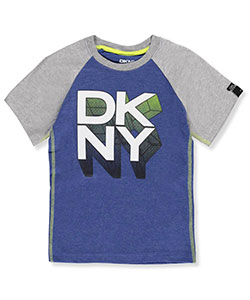 DKNY Little Boys' Raglan T-Shirt (Sizes 4 – 7) - CookiesKids.com