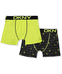 DKNY Big Boys' 2-Pack Performance Boxer Briefs (Sizes 7 – 20) - CookiesKids.com
