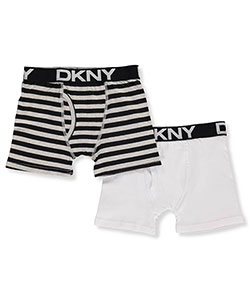 DKNY Big Boys' 2-Pack Boxer Briefs (Sizes 7 – 20) - CookiesKids.com
