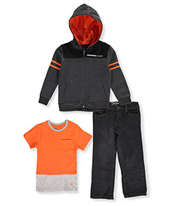 DKNY Little Boys' Toddler 3-Piece Outfit (Sizes 2T – 4T) - CookiesKids.com