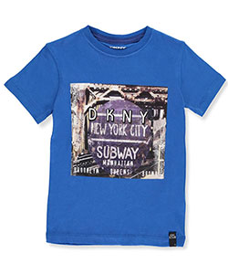 DKNY Little Boys' Toddler T-Shirt (Sizes 2T – 4T) - CookiesKids.com