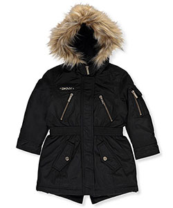 DKNY Little Girls' Insulated Jacket (Sizes 4 – 6X) - CookiesKids.com