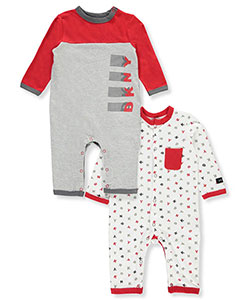 DKNY Baby Boys' 2-Pack Coveralls - CookiesKids.com