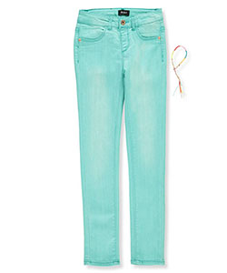 DKNY Girls' Skinny Jeans with Bracelet - CookiesKids.com