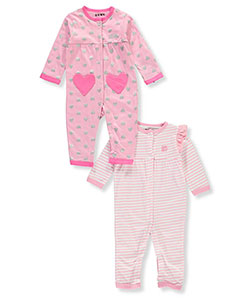 DKNY Baby Girls' 2-Pack Coveralls - CookiesKids.com