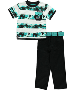 "Enyce Little Boys' ""Camo Estate"" 2-Piece Outfit (Sizes 4 – 7) - CookiesKids.com"