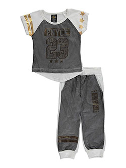 "Enyce Baby Girls' ""Gilded Mesh"" 2-Piece Outfit - CookiesKids.com"