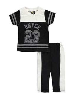 "Enyce Baby Girls' ""Faux Leather & Mesh"" 2-Piece Outfit - CookiesKids.com"