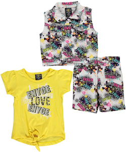 "Enyce Baby Girls' ""Graffiti Explosion"" 3-Piece Outfit - CookiesKids.com"