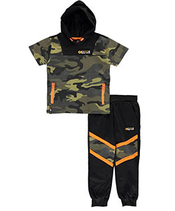 "Enyce Little Boys' Toddler ""Hidden Figure"" 2-Piece Outfit (Sizes 2T – 4T) - CookiesKids.com"