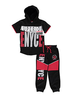 "Enyce Little Boys' Toddler ""Standard Superior"" 2-Piece Outfit (Sizes 2T – 4T) - CookiesKids.com"