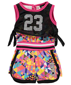 "Enyce Baby Girls' ""Mesh Moment"" Romper - CookiesKids.com"