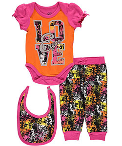"Enyce Baby Girls' ""Style Love"" 3-Piece Layette Set - CookiesKids.com"