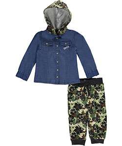 "Enyce Baby Boys ""Off-Duty"" 2-Piece Outfit - CookiesKids.com"