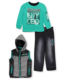 Enyce Little Boys' Toddler 3-Piece Outfit (Sizes 2T – 4T) - CookiesKids.com
