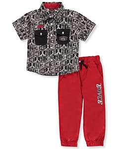 Enyce Little Boys' Toddler 2-Piece Outfit (Sizes 2T – 4T) - CookiesKids.com