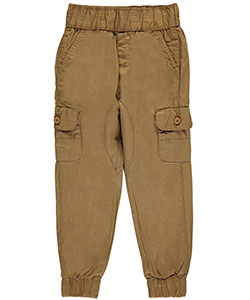 "Evolution In Design Little Boys' ""Cargo-Styled"" Jogger Pants (Sizes 4 – 7) - CookiesKids.com"