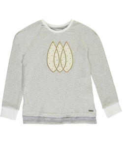 "Sean John Big Girls' ""Golden Tears"" Sweatshirt (Sizes 7 – 16) - CookiesKids.com"
