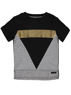 "Sean John Little Boys' ""Graphic French Terry"" T-Shirt (Sizes 4 – 7) - CookiesKids.com"