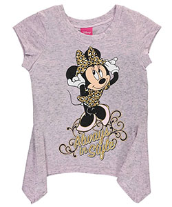 "Minnie Mouse Little Girls' Toddler ""Always in Style"" T-Shirt (Sizes 2T – 4T) - CookiesKids.com"