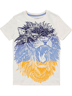"Sean John Little Boys' ""Jungle Roar"" T-Shirt (Sizes 4 – 7) - CookiesKids.com"
