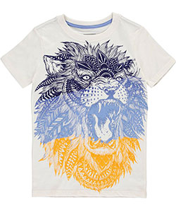 "Sean John Big Boys' ""Jungle Roar"" T-Shirt (Sizes 8 – 20) - CookiesKids.com"
