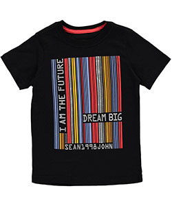 "Sean John Big Boys' ""Barcode Future"" T-Shirt (Sizes 8 – 20) - CookiesKids.com"