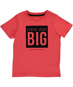 "Sean John Little Boys' ""Big Dreams"" T-Shirt (Sizes 4 – 7) - CookiesKids.com"