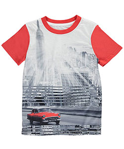 "Sean John Big Boys' ""Vintage Ride"" T-Shirt (Sizes 8 – 20) - CookiesKids.com"