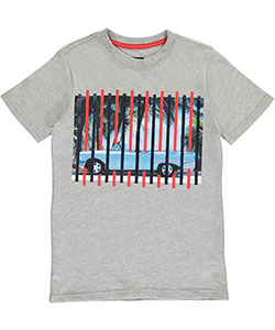 "Sean John Big Boys' ""Striped Tropics"" T-Shirt (Sizes 8 – 20) - CookiesKids.com"