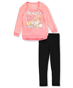 Disney Princess Little Girls' 2-Piece Outfit Featuring Belle (Sizes 4 – 6X) - CookiesKids.com