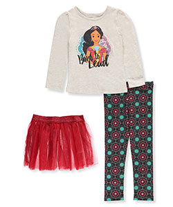 Disney Elena of Avalor Little Girls' Toddler 3-Piece Outfit (Sizes 2T – 4T) - CookiesKids.com