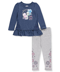 Shimmer and Shine Little Girls' Toddler 2-Piece Outfit (Sizes 2T – 4T) - CookiesKids.com