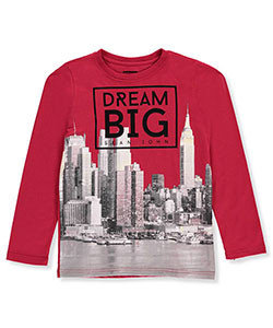 Sean John Big Boys' L/S T-Shirt (Sizes 8 – 20) - CookiesKids.com