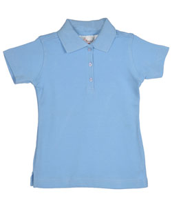 Elderwear Little Girls' S/S Knit Polo (Sizes 4 - 6X) - CookiesKids.com
