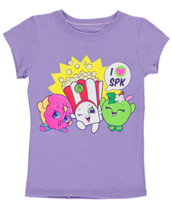 "Shopkins Little Girls' ""I Love SPK"" T-Shirt (Sizes 4 – 6X) - CookiesKids.com"