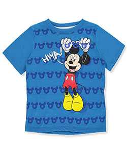 "Mickey and the Roadster Racers Little Boys' Toddler ""Hiya!"" T-Shirt (Sizes 2T – 5T) - CookiesKids.com"