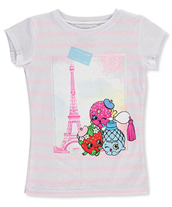 Shopkins Big Girls' T-Shirt (Sizes 7 – 16) - CookiesKids.com