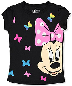 Disney Minnie Mouse Little Girls' T-Shirt (Sizes 4 – 6X) - CookiesKids.com