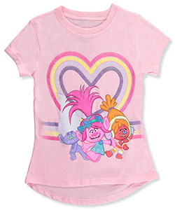 Trolls Little Girls' T-Shirt (Sizes 4 – 6X) - CookiesKids.com