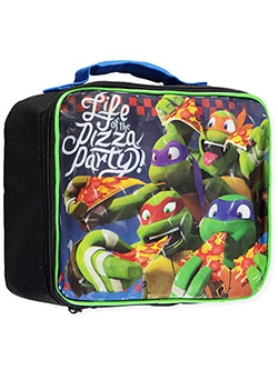 "TMNT ""Life of the Pizza Party"" Insulated Lunchbox - CookiesKids.com"