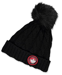 Canada Weather Gear Cable Knit Beanie (Youth One Size) - CookiesKids.com
