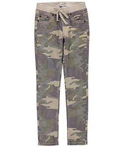 "Revolution by Revolt Big Girls' ""Embroidered Camo"" Jeggings (Sizes 7 – 16) - CookiesKids.com"