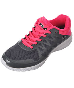 "Fila Girls' ""Long Distance"" Sneakers (Youth Sizes 13.5 – 3.5) - CookiesKids.com"
